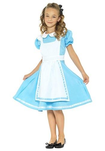 Girls Alice Dreamland Costume