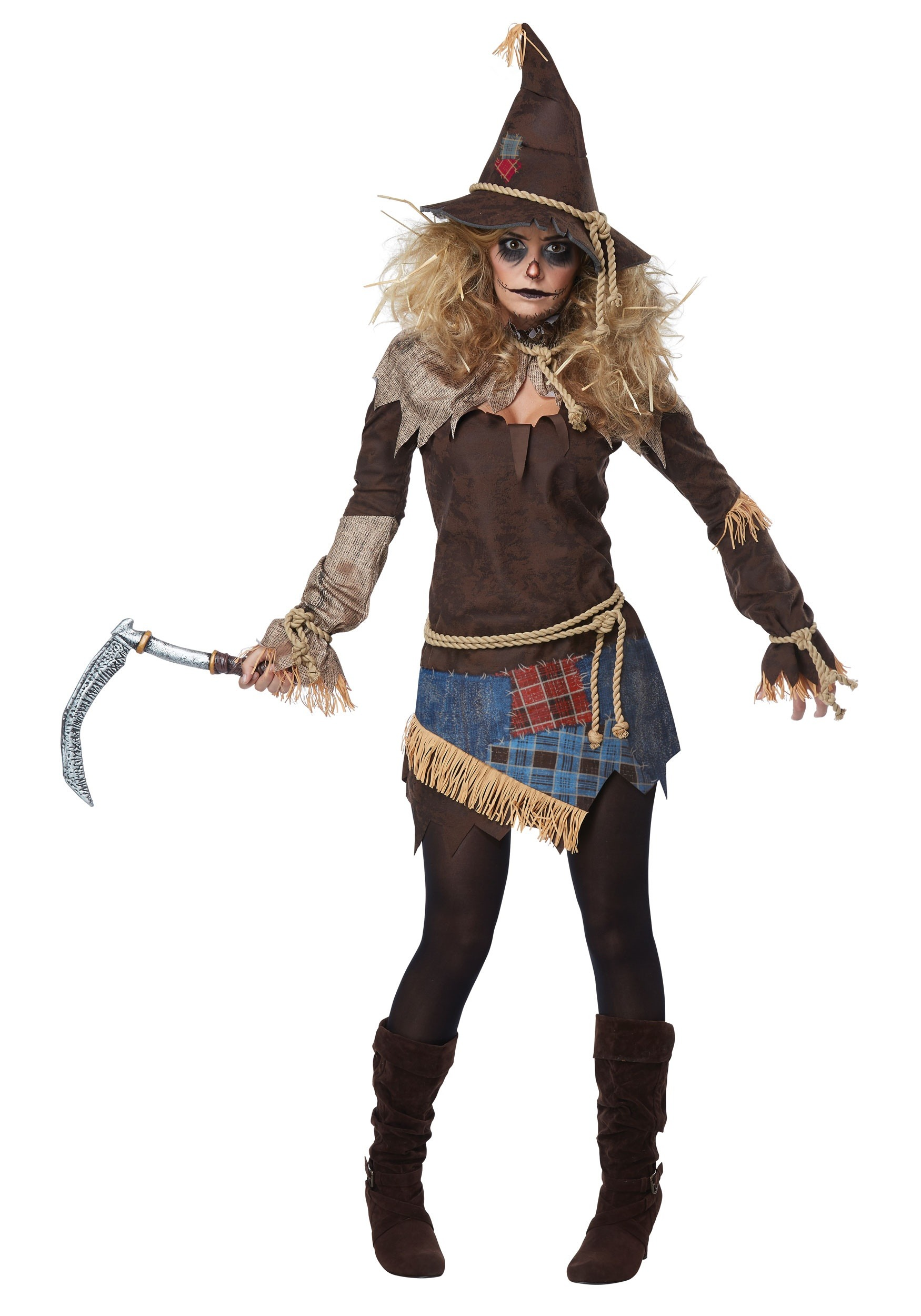Creepy Scarecrow Costume for Wo