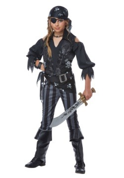 Rebel Pirate Girls Costume