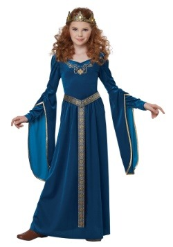 Girls Medieval Princess Costume-update1