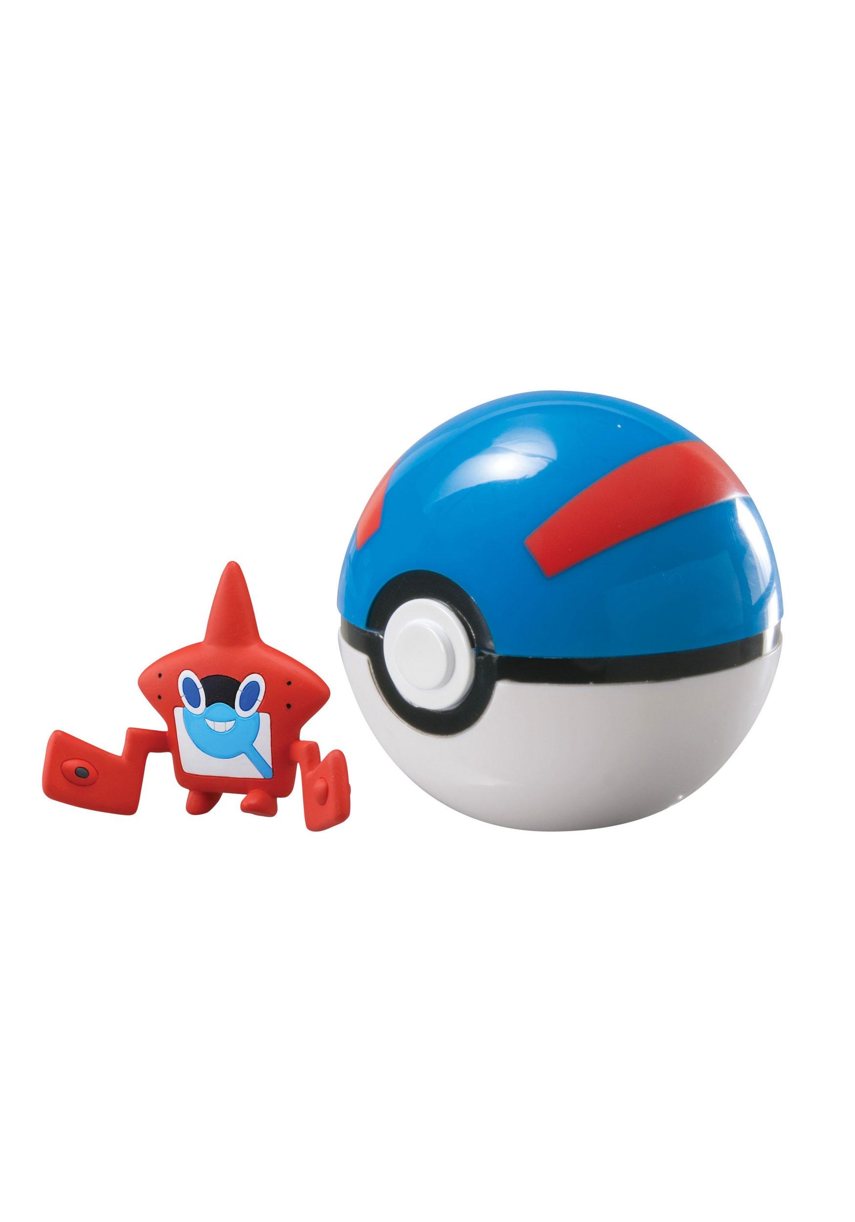 Rotom Pokedex Great Ball Set From Pokemon