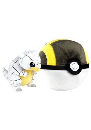 Ultra Ball + Alolan Sandshrew Stuffed Figure TOMT19367-ST