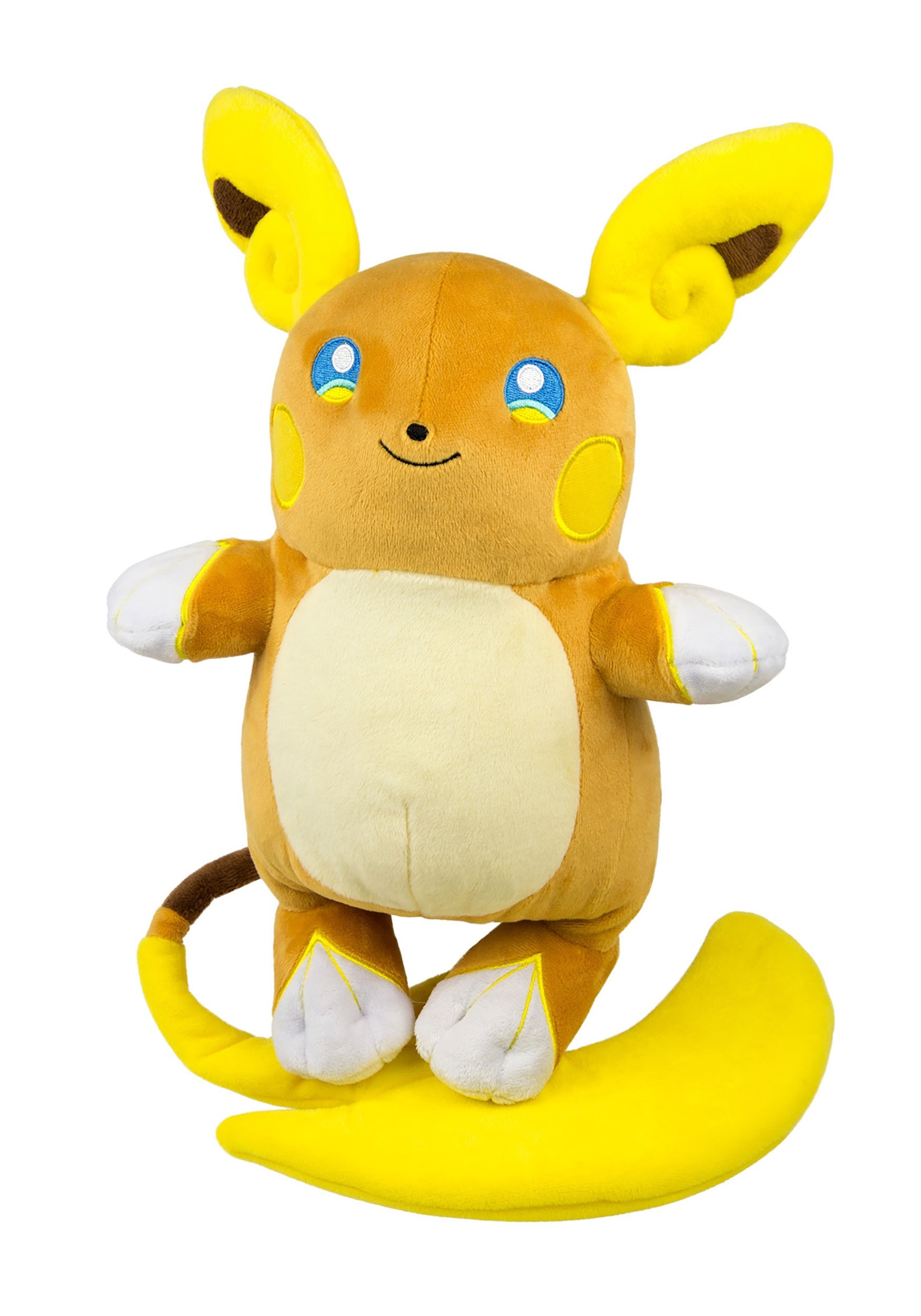 Pokemon Alolan Raichu Large Stuffed Figure TOMT19351