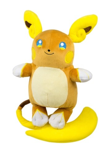 Alolan Raichu Large Stuffed Figure from Pokemon TOMT19351-ST