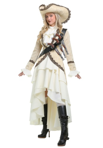 Women's Captivating Pirate Plus Size Costume