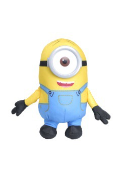 "Minions Stuart 8"" Printed Stuffed Doll"