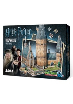 Hogwarts Great Hall 3D Puzzle - 850 Pieces