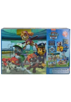Paw Patrol 8pk Jigsaw Puzzle Set