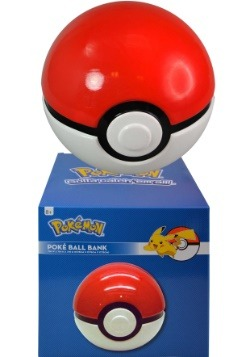 Pokemon Poke Ball Ceramic Bank