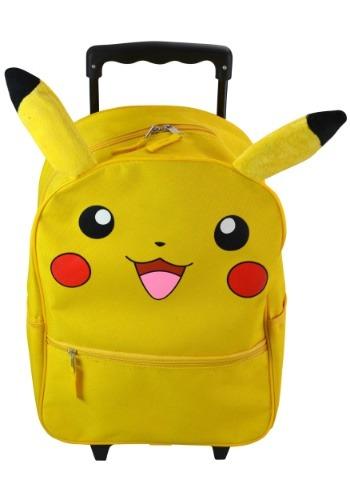 "Pokemon Pikachu 16"" Rolling Backpack"