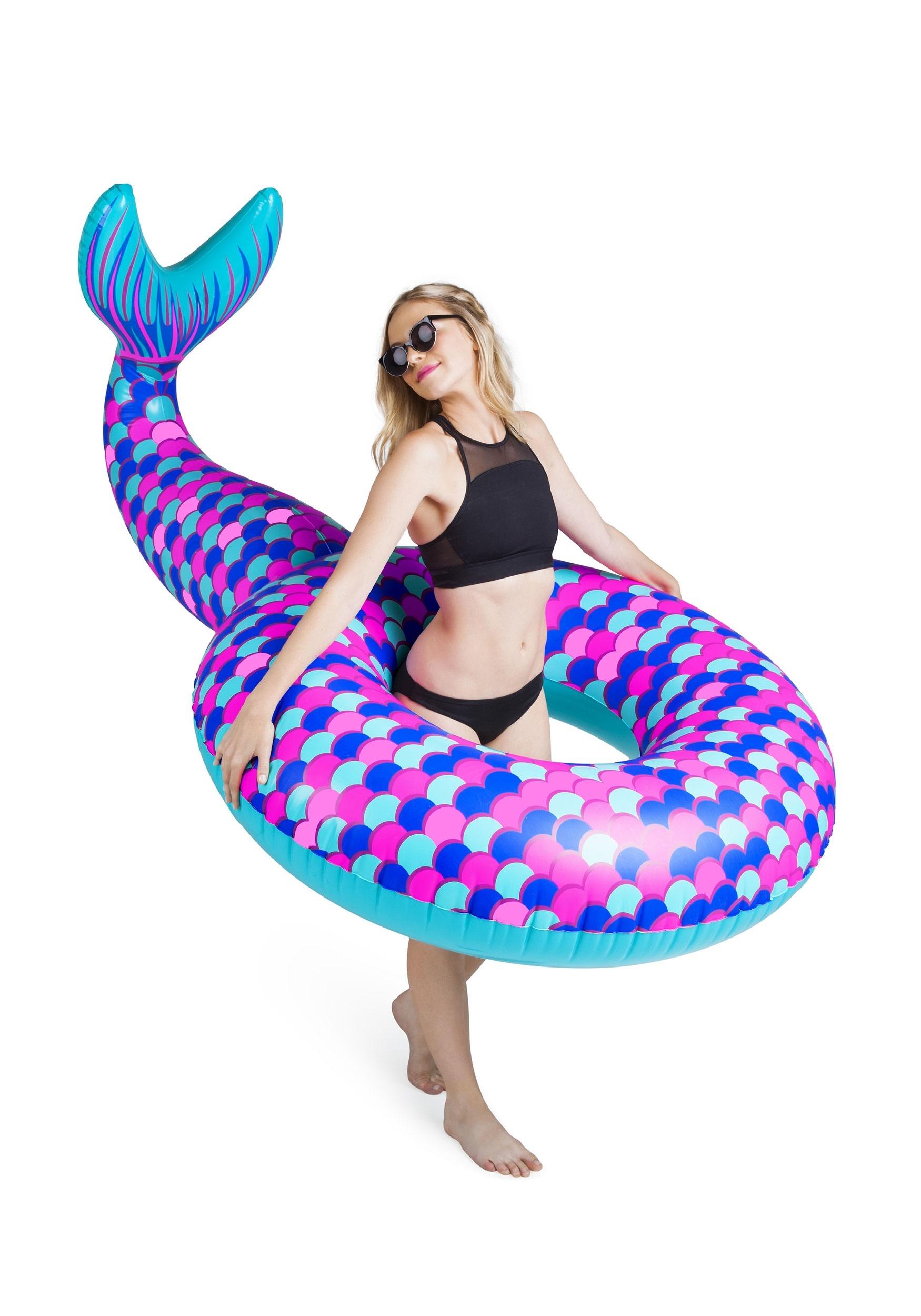5ft Mermaid Tail Pool Float