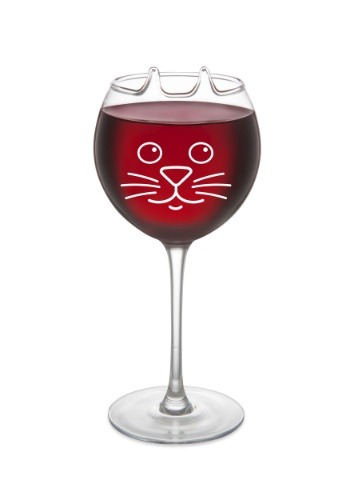 Purrfect 12oz Wine Glass