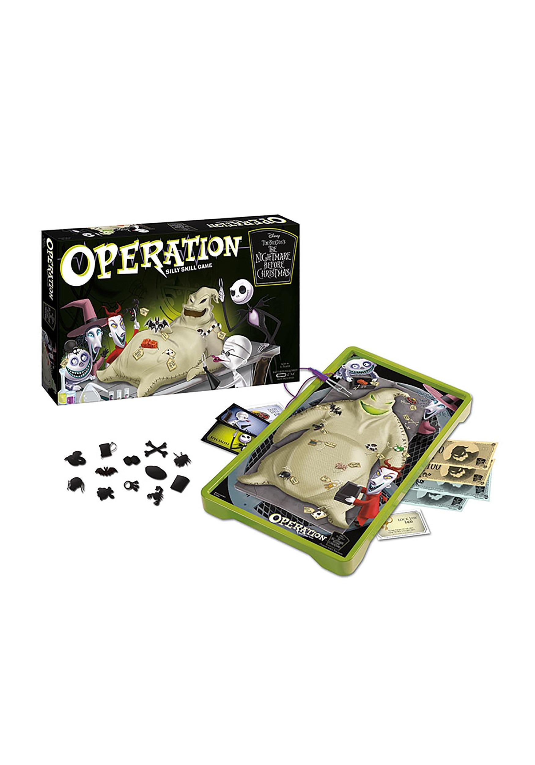 Tim Burton's The Nightmare Before Christmas OPERATION game USPOP004-261