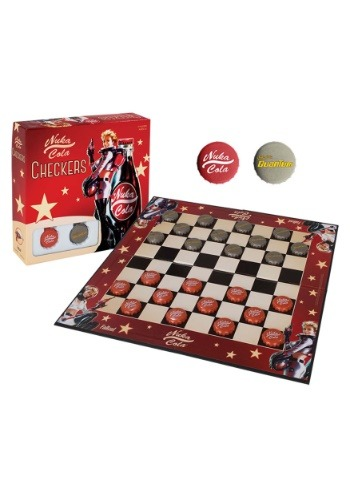 Fun.com - Fallout Nuka Cola Checkers Set Photo