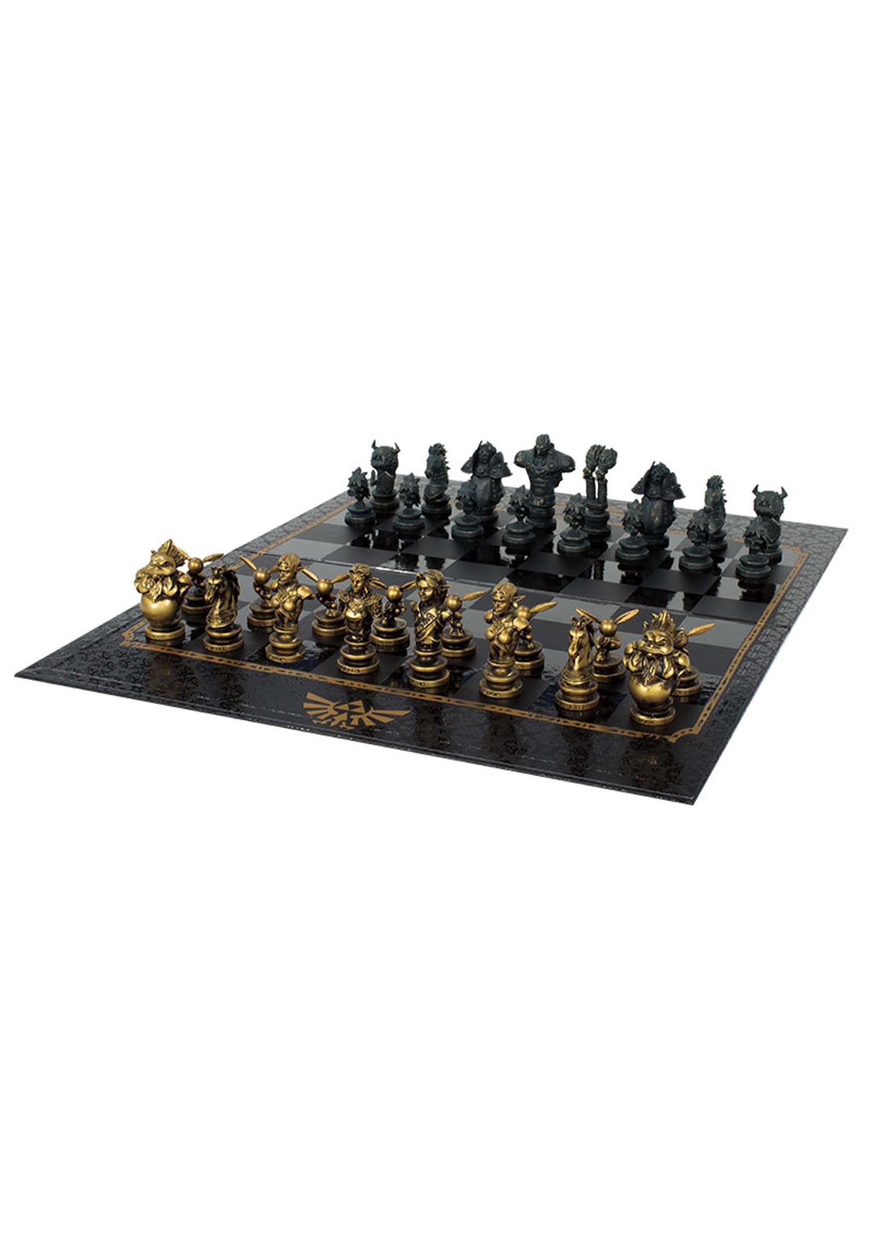 Good The Legend Of Zelda Chess Set