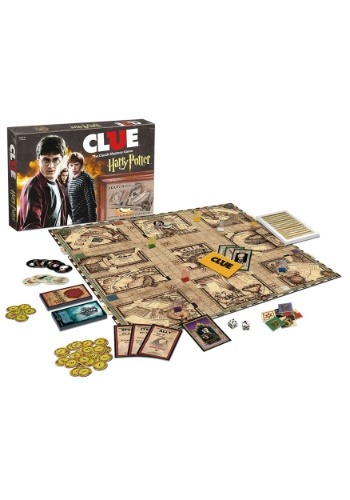 CLUE Game - Harry Potter Edition