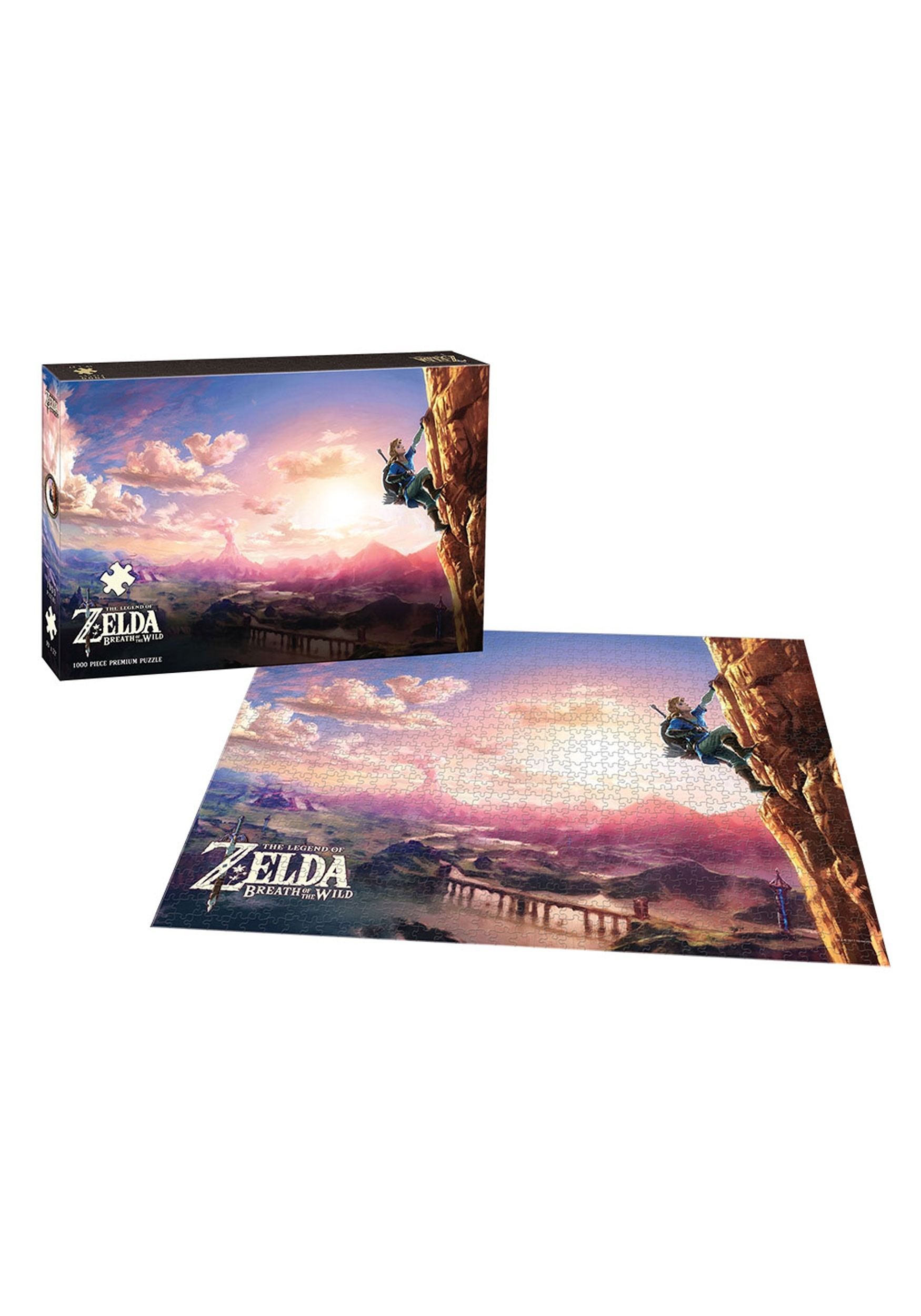 Legend of Zelda Breath of the Wild Scaling Hyrule Puzzle