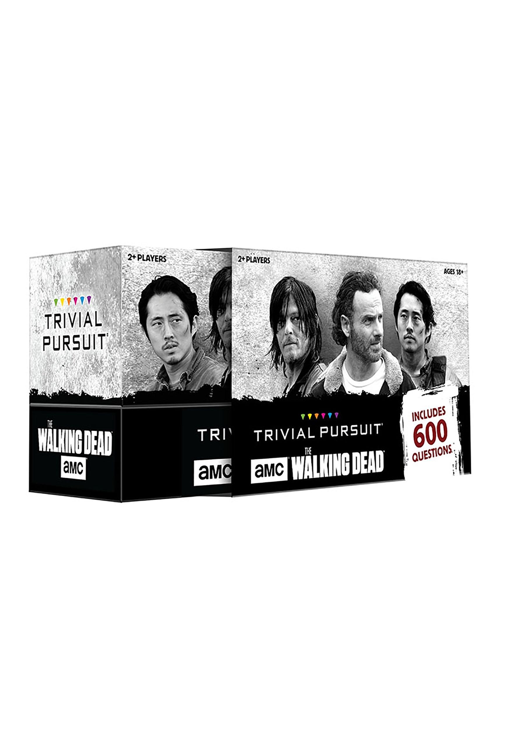 TRIVIAL PURSUIT The Walking Dead AMC Edition