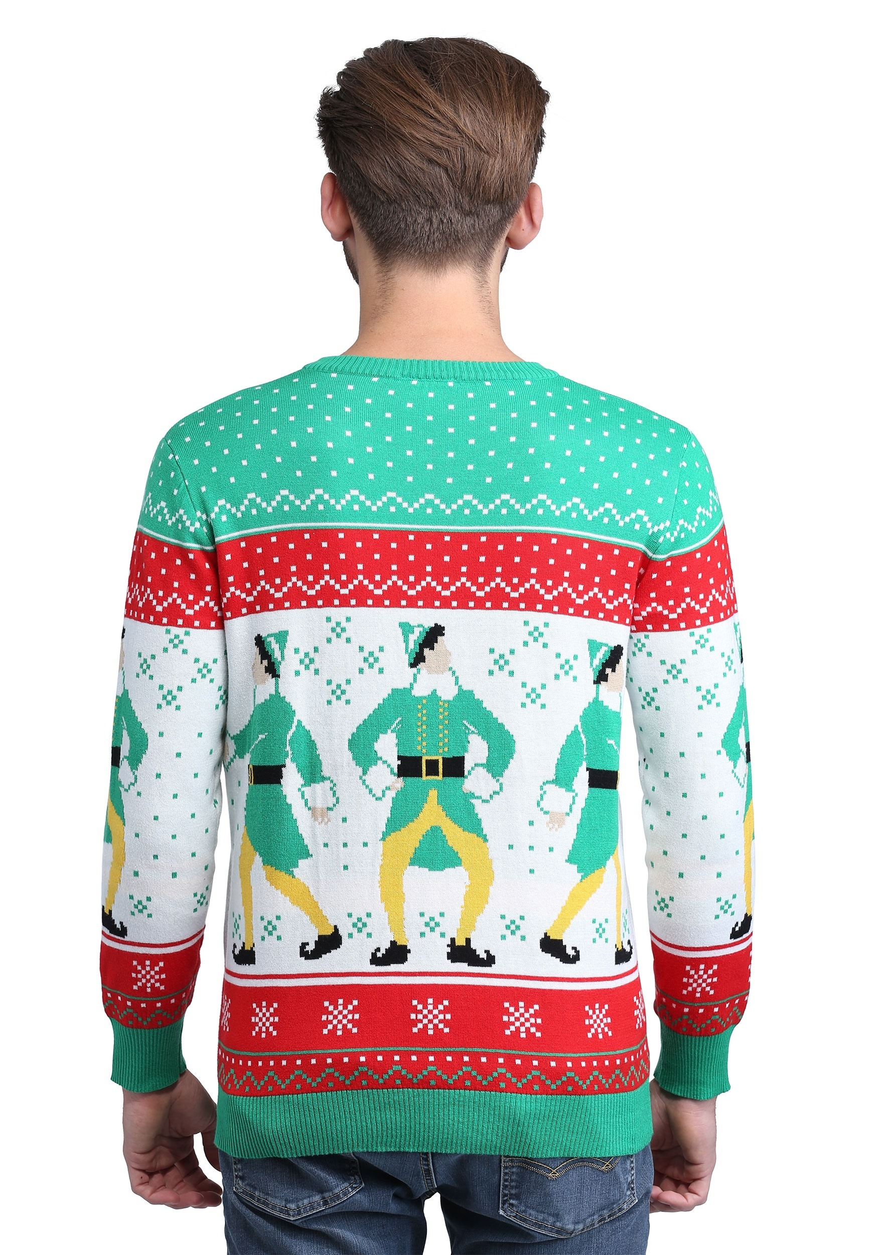 Buddy the Elf Ginormous Ugly Christmas Sweater for Adults