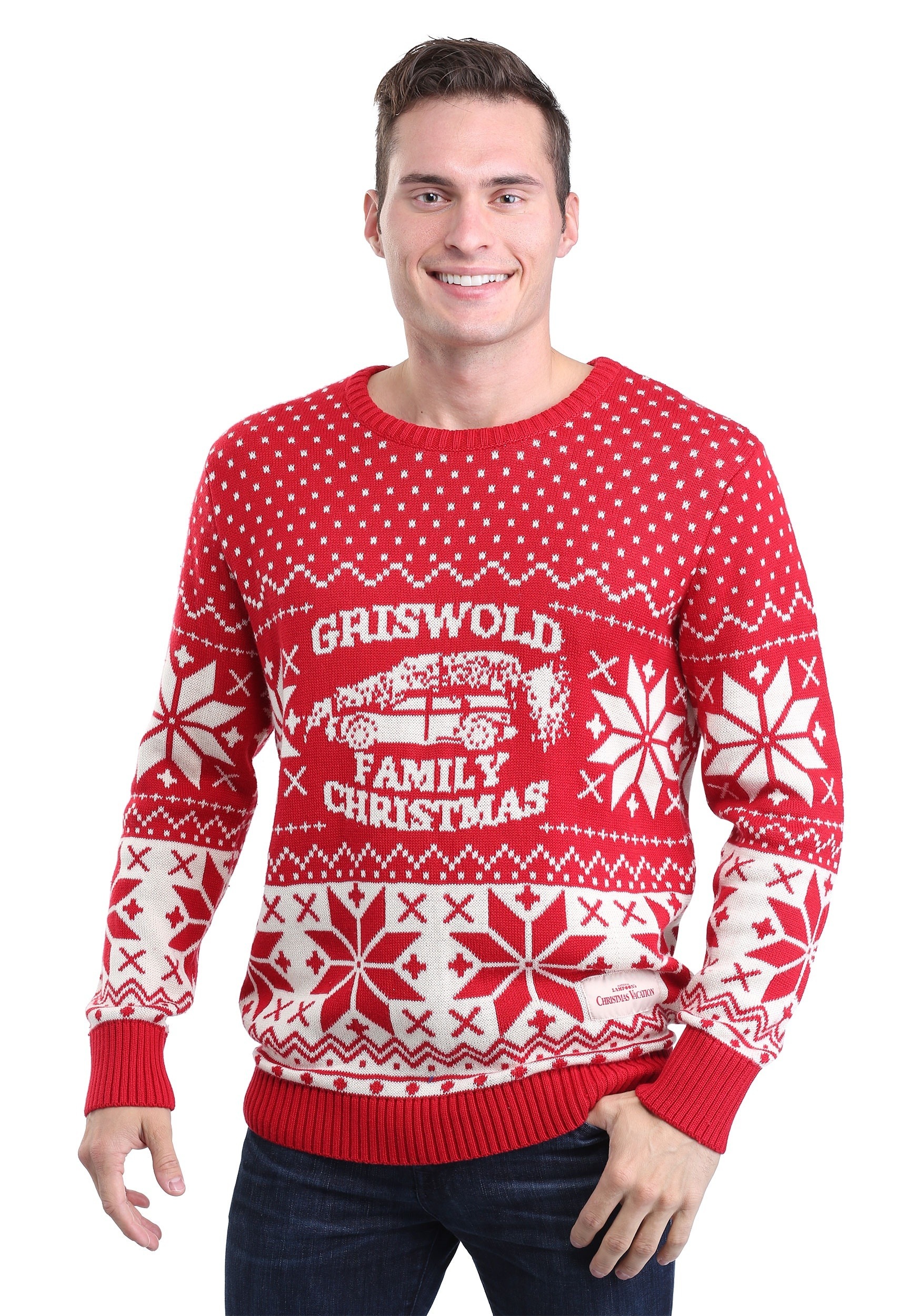 national lampoons christmas vacation adult knit sweater