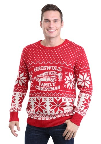 National Lampoon's Christmas Vacation Adult Knit Sweater