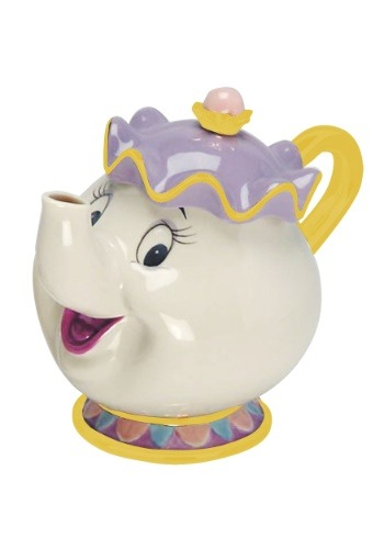 Mrs. Potts Sculpted Ceramic Teapot