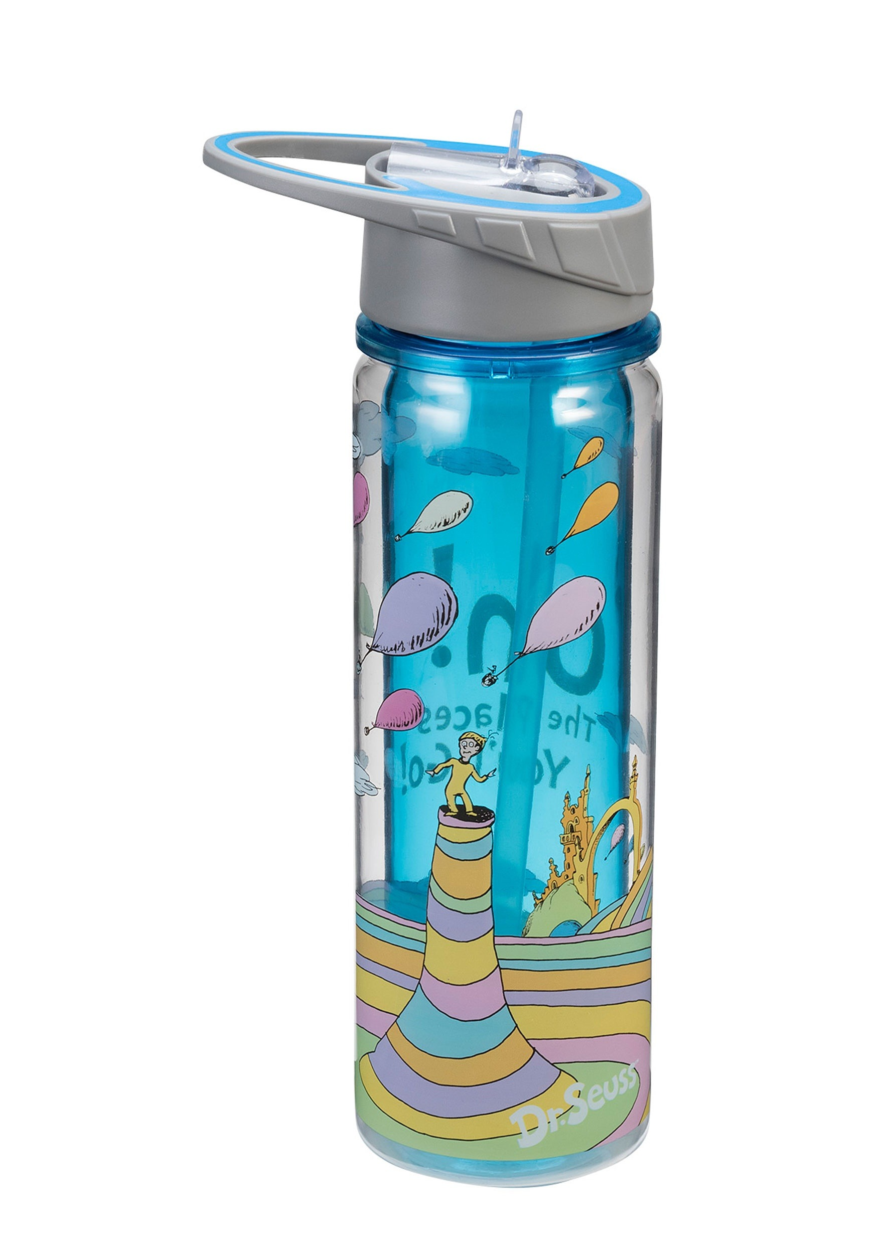 Oh the Places You'll Go 18 oz Tritan Water Bottle VA17075