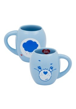 Care Bears Grumpy Bear 18 oz Oval Ceramic Mug
