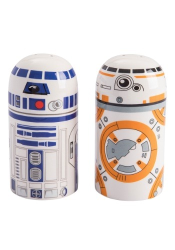 Star Wars R2D2 & BB-8 Salt & Pepper Set1