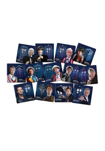 Doctor Who 13 pc Coaster Set