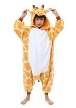 Kids Giraffe Kigurumi Pajamas