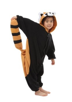 Child Red Panda Kigurumi