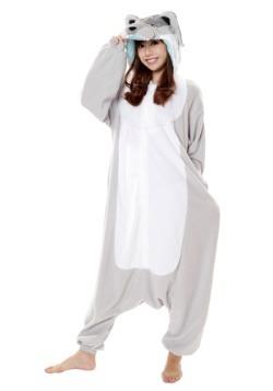 Adult Wolf Kigurumi Costume