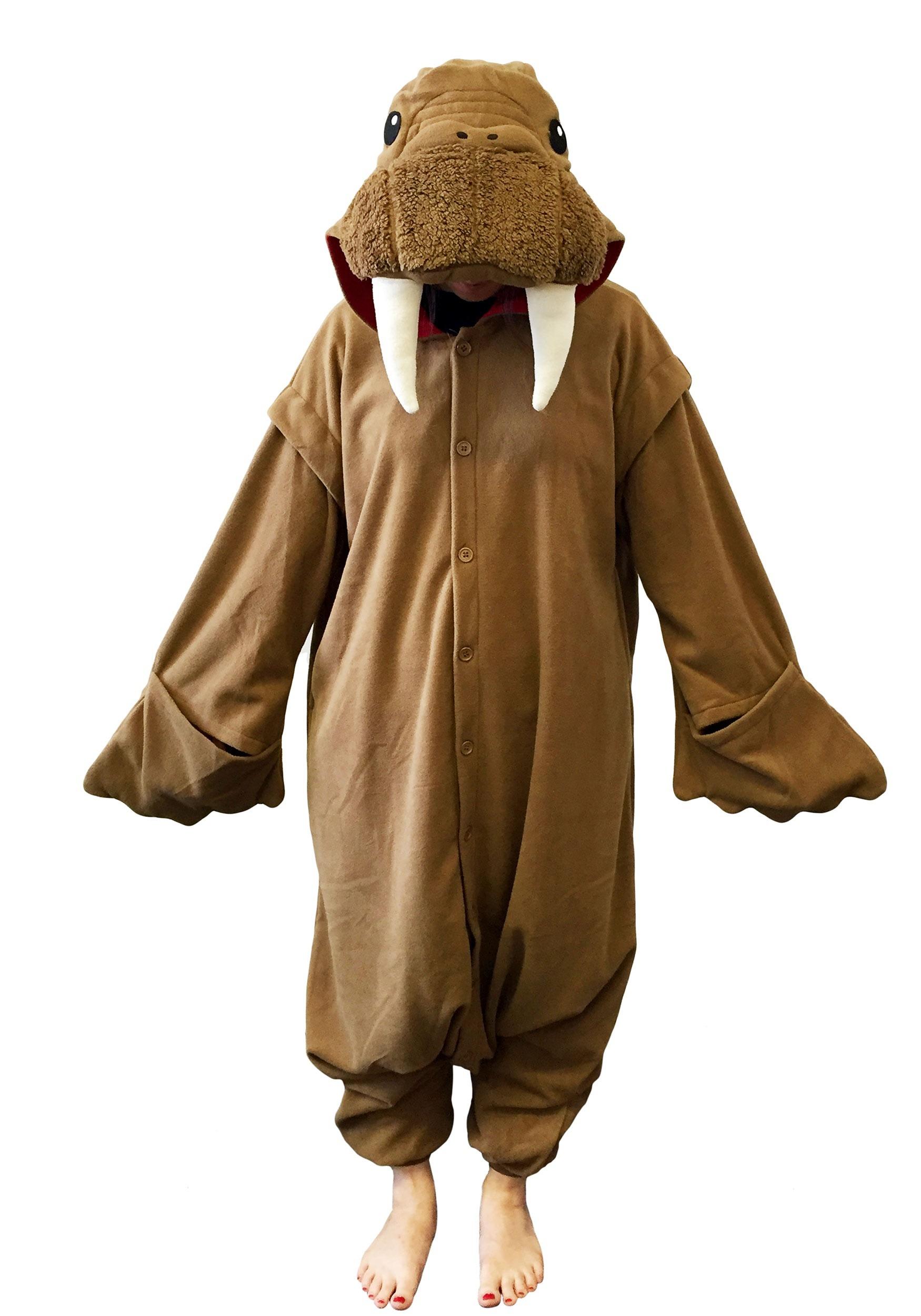 Walrus Kigurumi Costume For Adults