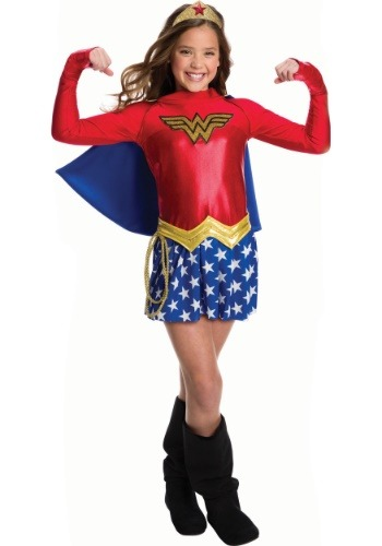 Girls Wonder Woman Costume