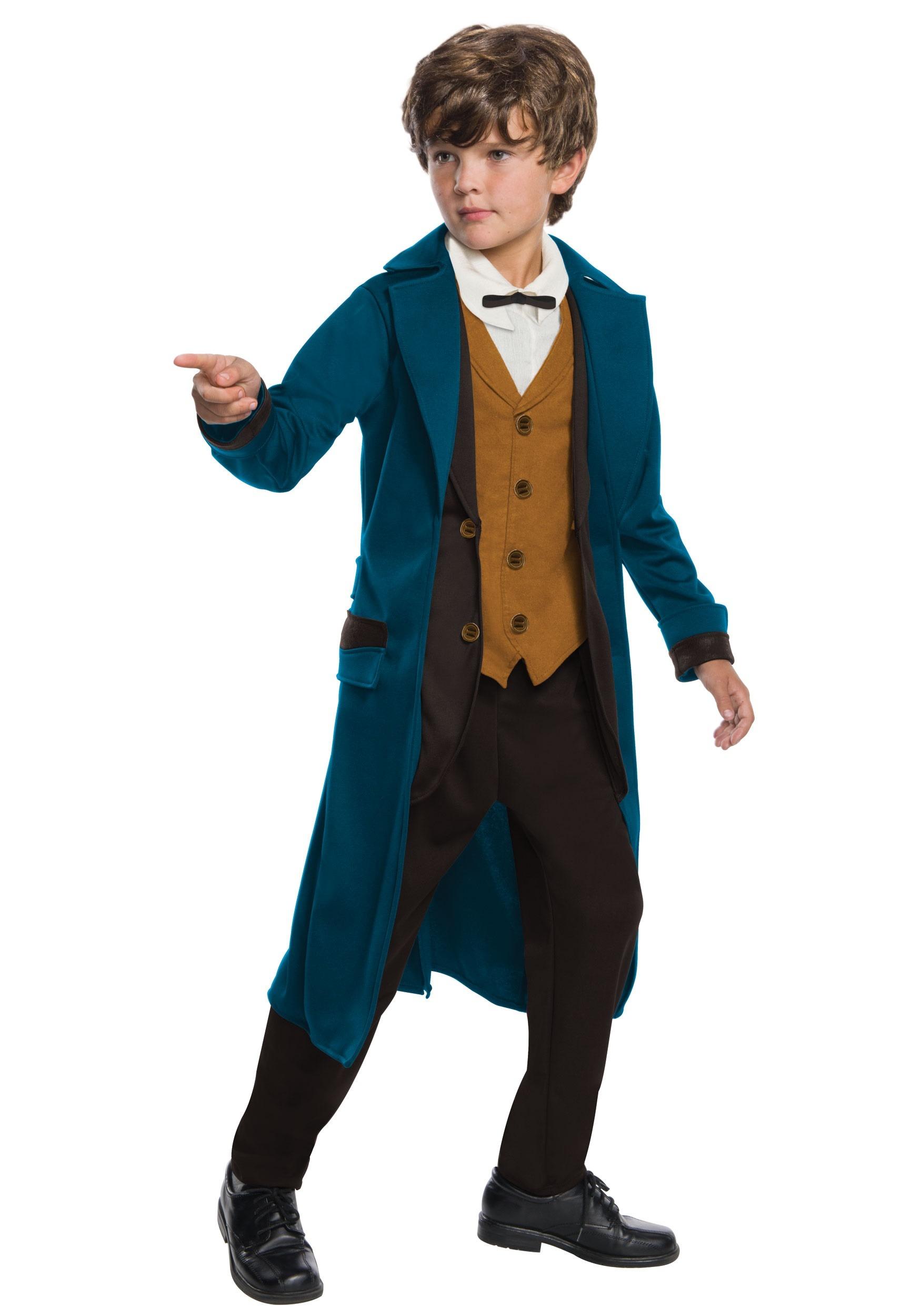 Fantastic Beasts Newt Scamander Deluxe Costume For Boys