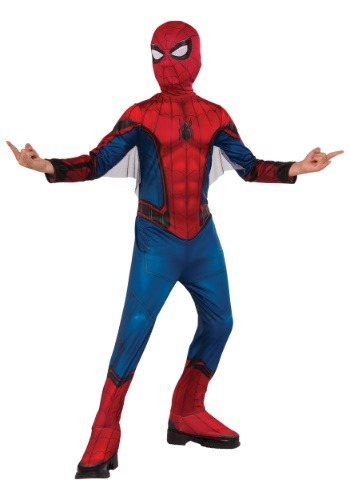 Classic Spider-Man Kids Costume RU630730-L