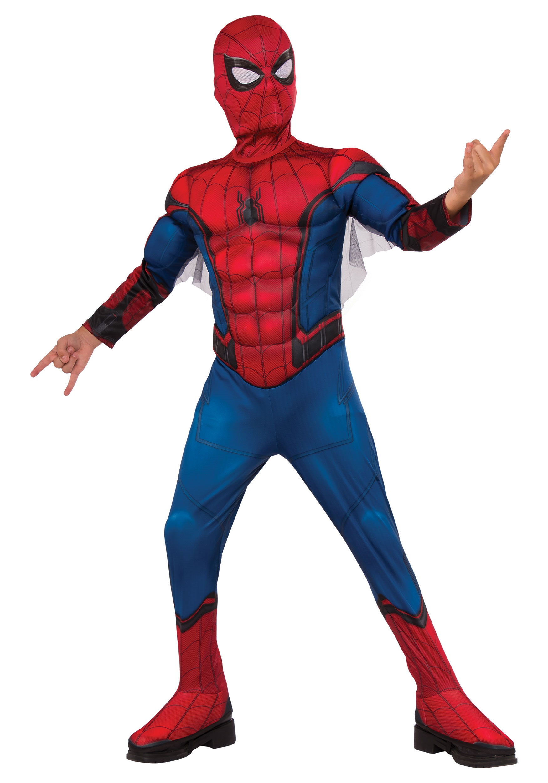 Child Deluxe Spider-Man Costume RU630731