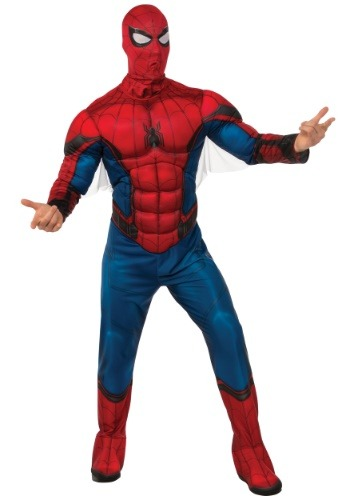 Adult Deluxe Spider-Man Costume RU820685-ST