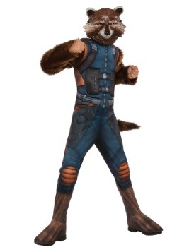 Child Deluxe Rocket Raccoon Costume
