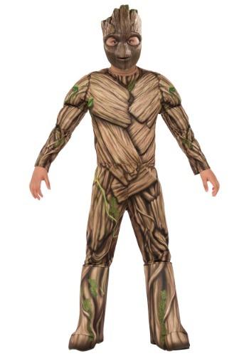 Child Deluxe Groot Costume