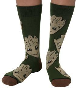 Guardians of the Galaxy Groot Mens Crew Socks