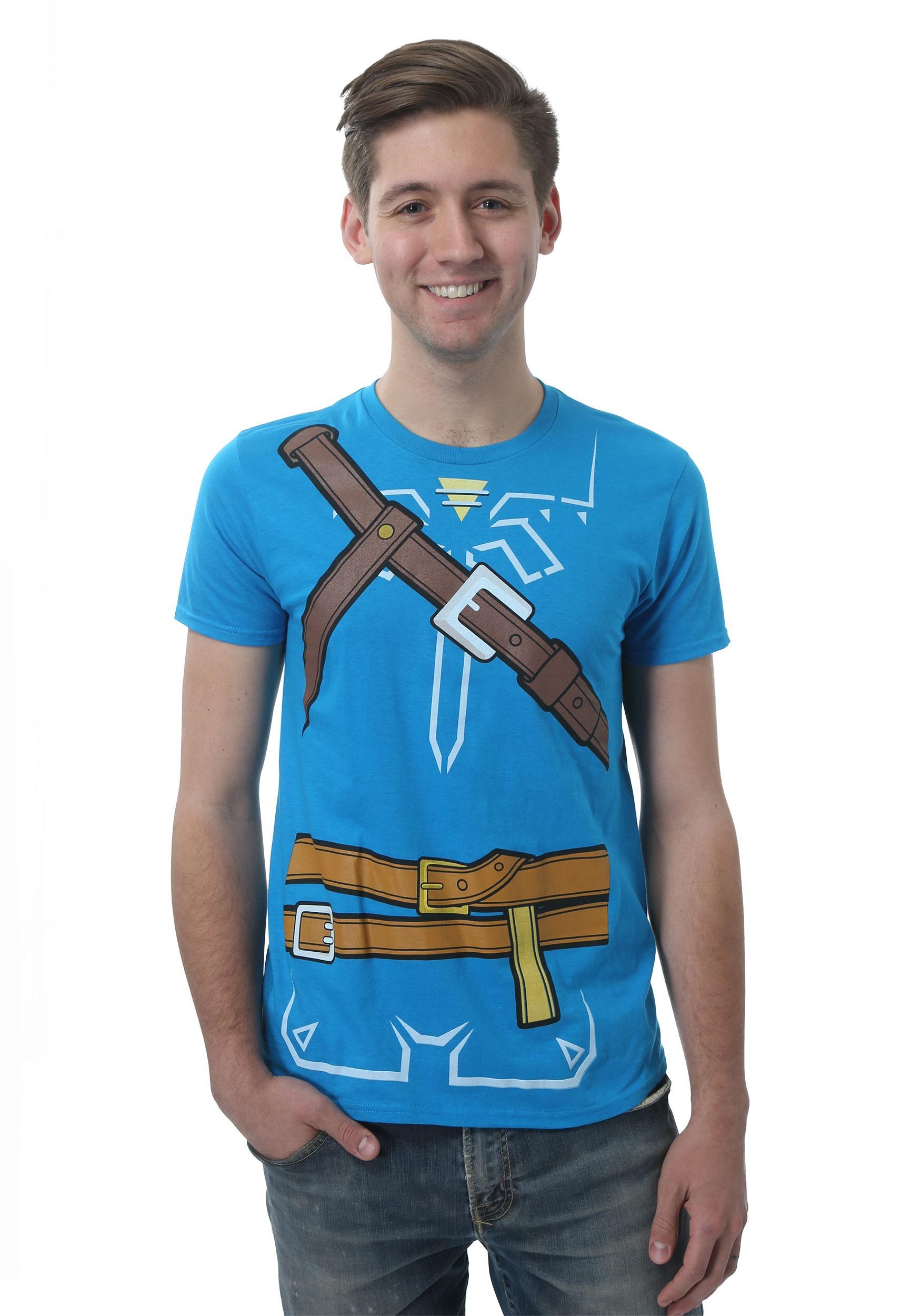 Legend of Zelda Breath of the Wild Men's Costume Tee