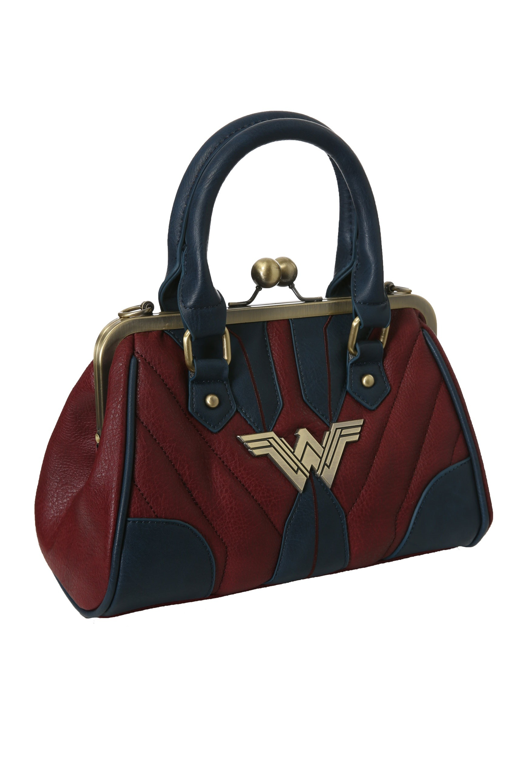 Dc Comics Wonder Woman Clams Handbag