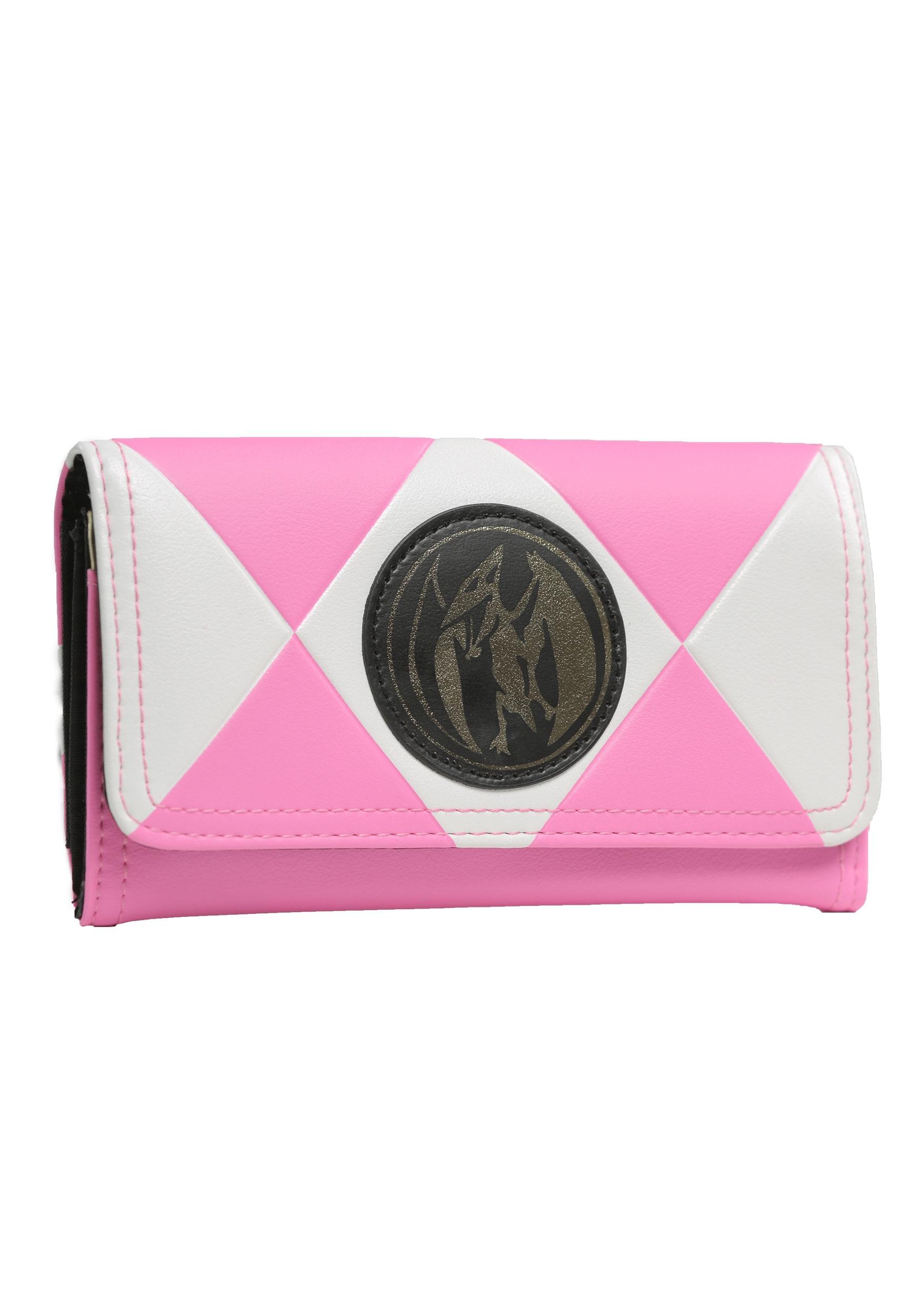 661a8a223 Power Rangers Pink Ranger Trifold Wallet