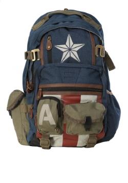 Captain America Herringbone Backpack