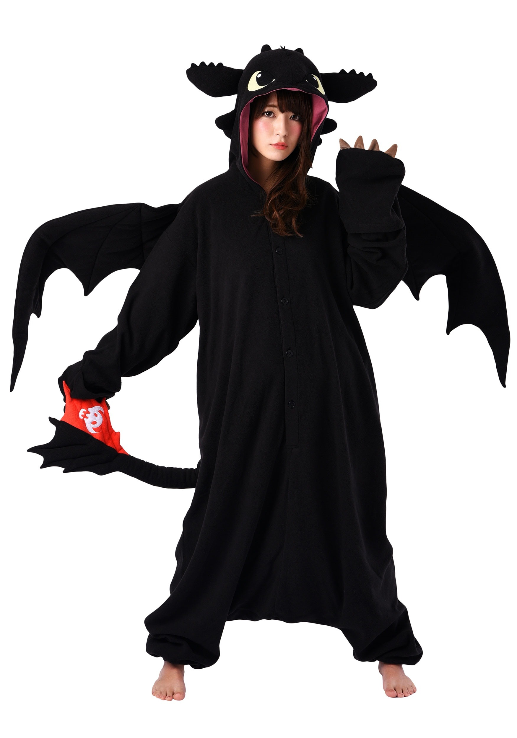 Adult How To Train Your Dragon Toothless Kigurumi Costume