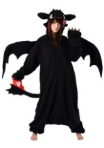 Adult How to Train Your Dragon Toothless Kigurumi
