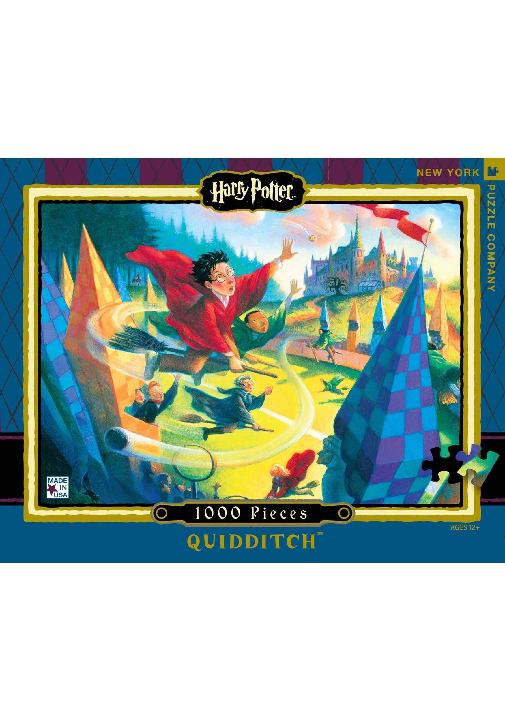 Harry Potter Quidditch 1000 pc Puzzle NYPHP1361
