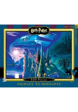 Harry Potter Journey to Hogwarts 500 pc Puzzle